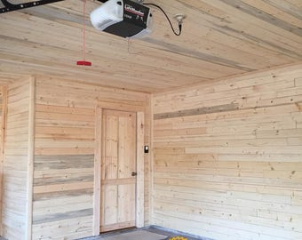 38.5 SQFT of 6' long thin wall/ceiling wood, premium repurposed fir boards, panels, planks, shiplap without the lap, lumber, houseflip