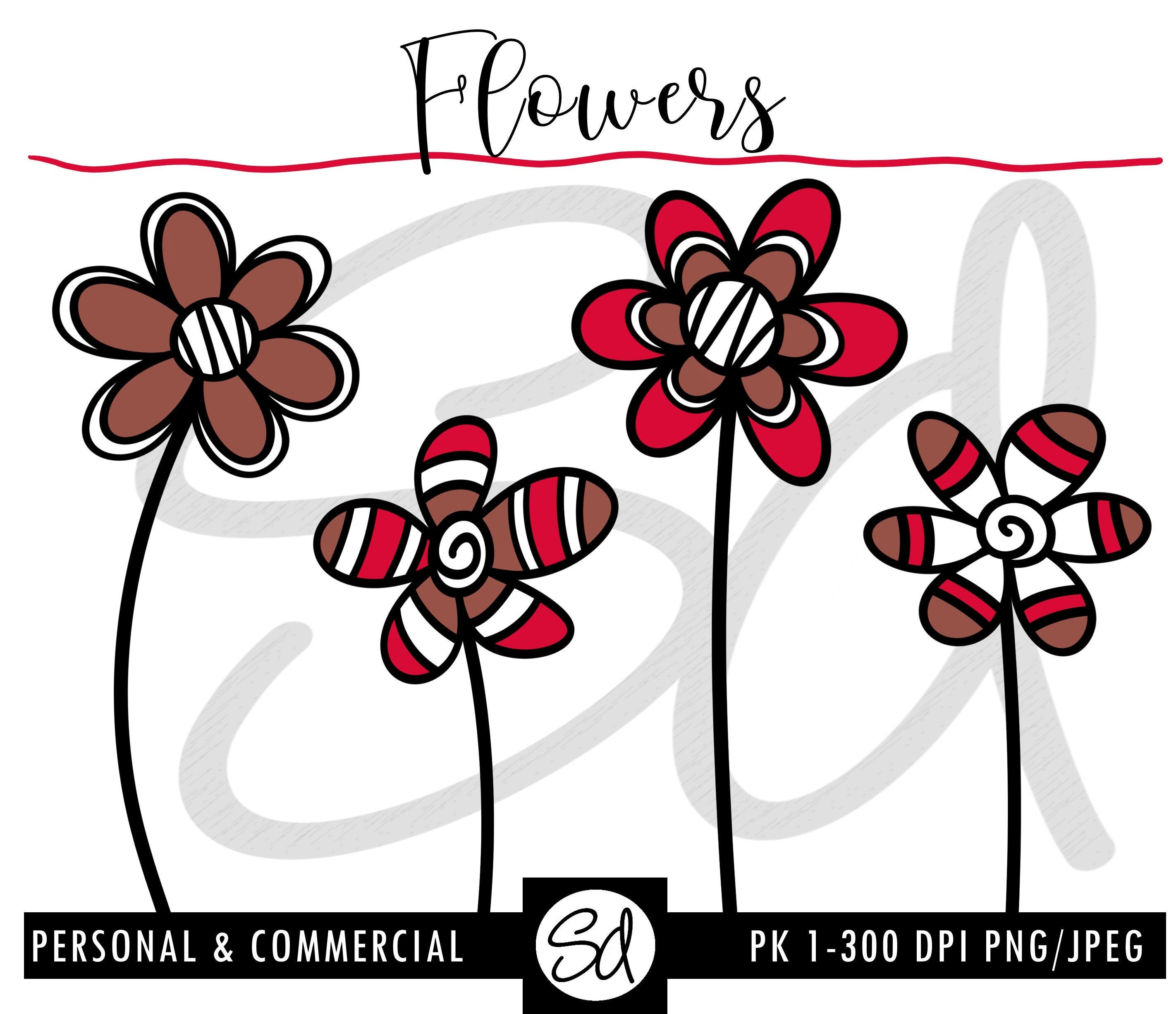 Flowers Pk 1 Instant Download Flowers Png Flowers Clipart