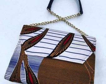 African print Shoulder bag