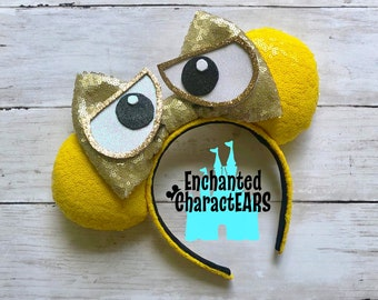 WALL E Ears Custom Minnie Ears Disney Ears