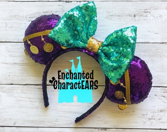 Esmeralda Ears The Hunchback of Notre Dame Ears Custom Mouse Ears Disney Ears