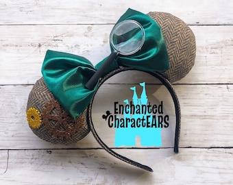 Great Mouse Detective Ears Basil Ears Custom Minnie Ears Disney Ears