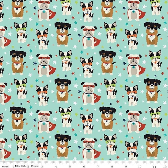 Dog Boston Terrier  Fabric Panel Make A Cushion Upholstery Craft