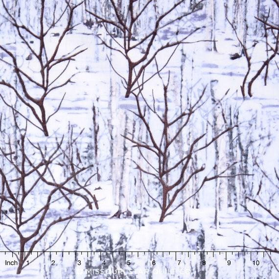 Benartex Kanvas YARD Great North Wilderness Penguins Nature Fabric