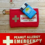Small Thermal Case for Epipen/Auvi-Q, cold pack. Custom, personalized, handmade. First aid, medical response, epinephrine