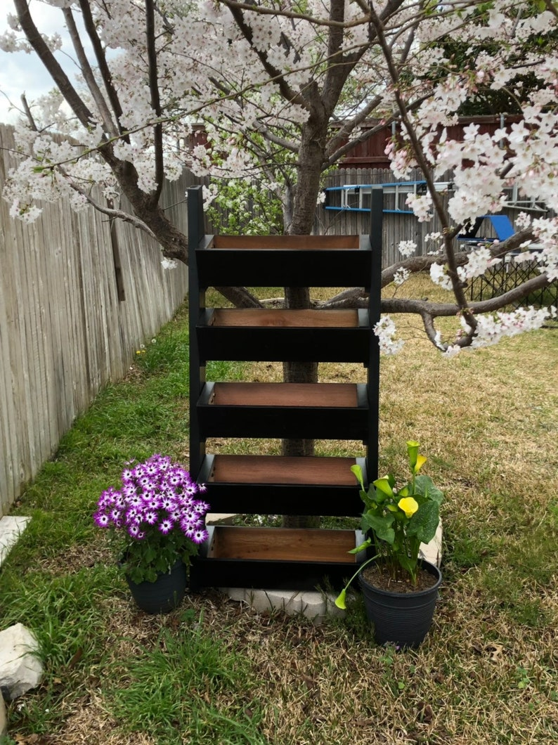 Midnight Vertical Garden Planter| Garden Planter Box|