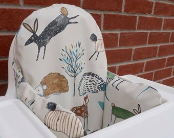 Country Creatures Oilcloth cover for KLÄMMIG inflatable cushion