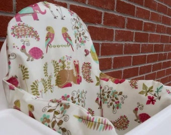 Indian Summer Oilcloth cover for KLÄMMIG inflatable cushion