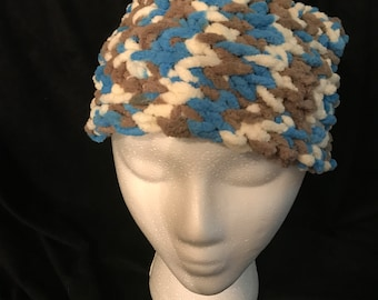 Tri colored child size hat
