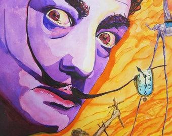 Salvador Dali - print