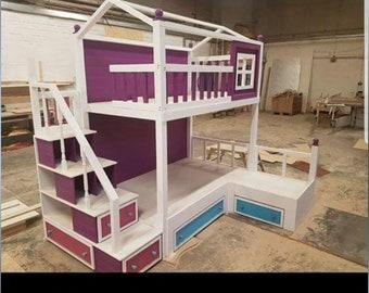 Children's bespoke beds