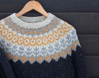 45143b3dd66 Hand Knitted Sweater. Lopapeysa