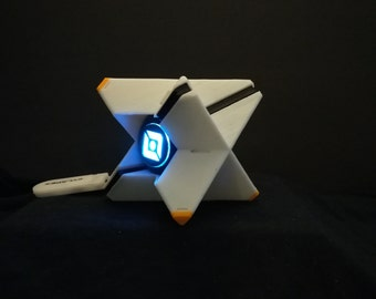 Destiny Ghost with LED light and Stand