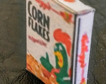 Miniature Corn Flakes Cereal Box