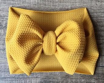Mustard headwrap  a15dbc1c302