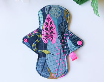 Custom BUNNY RABBIT reusable cloth menstrual pad