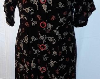 CZJJ Women Fashion Dress Long Sleeve Floral Print Long Maxi Dress Casual Dress