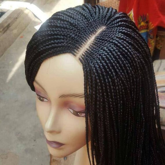 Custom Made Cornrow Braids Braided Wigs Braided Twists Etsy
