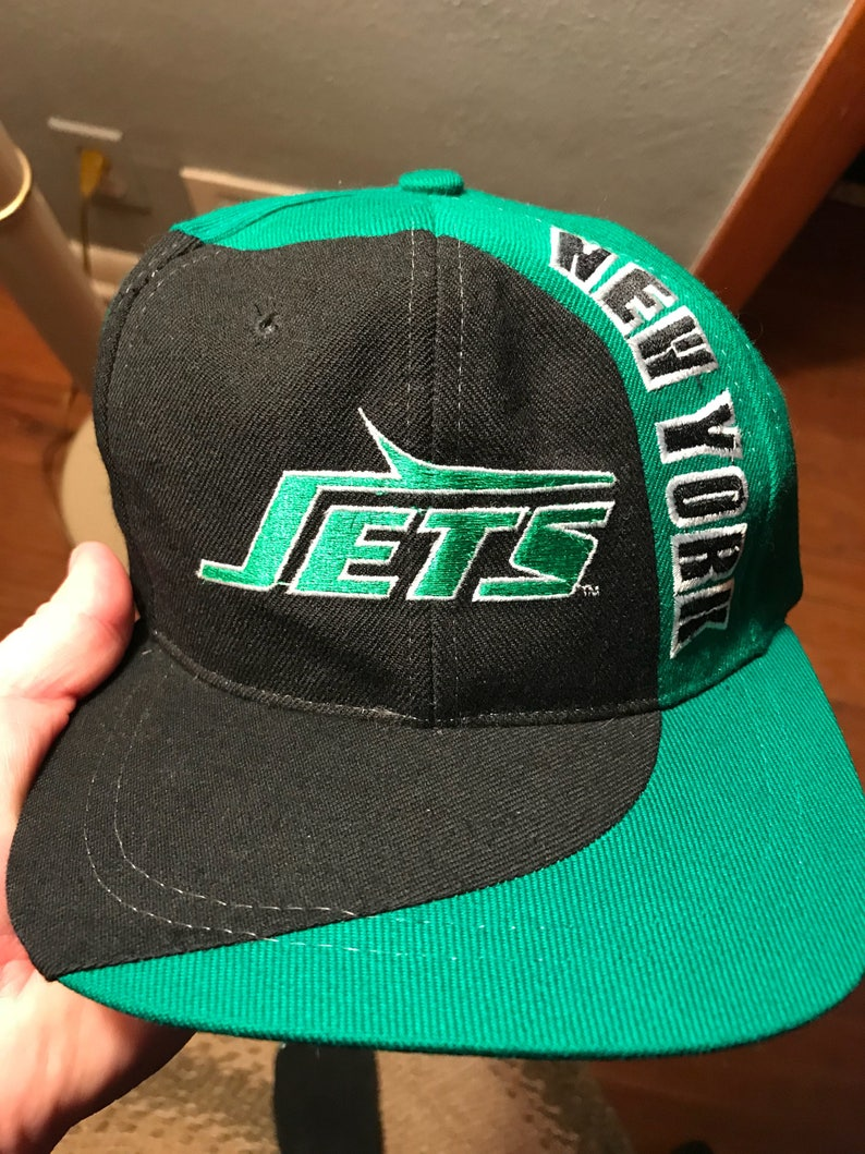 6f89d3e8f Vintage nfl New York Jets snapback hat cap retro football