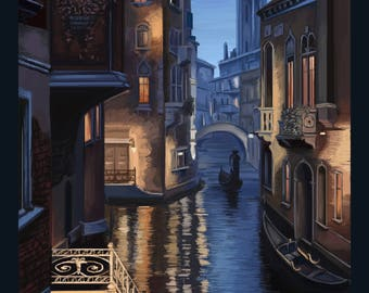 Venice Digital Painting