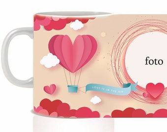 Valentine's Cup with photo