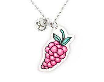 Necklace Berry Pink