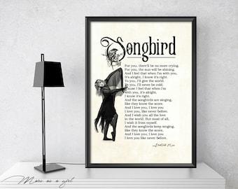 Stevie Nicks, Fleetwood Mac, 1970s, Songbird Lyrics, Art Print