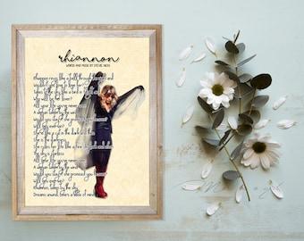 Stevie Nicks Fleetwood Mac Rhiannon Art Print