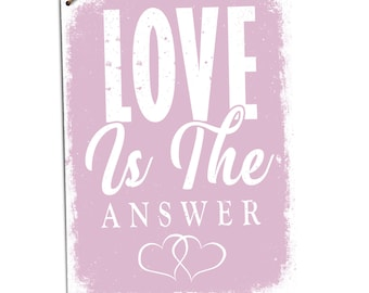 Love is the answer | Etsy