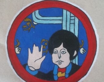 Original Drawing - The Beatles Paul McCartney - Yellow Submarine