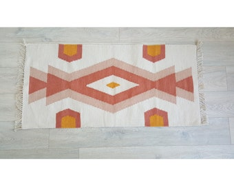Southwestern Style Rug Made From Recycled Plastic Bottles Etsy