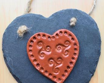 Love Heart Terracotta