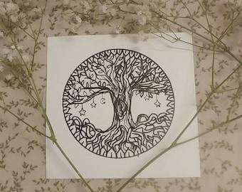 Vine Moon Tree