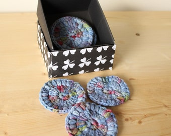 Eco-friendly reusable make-up remover pads