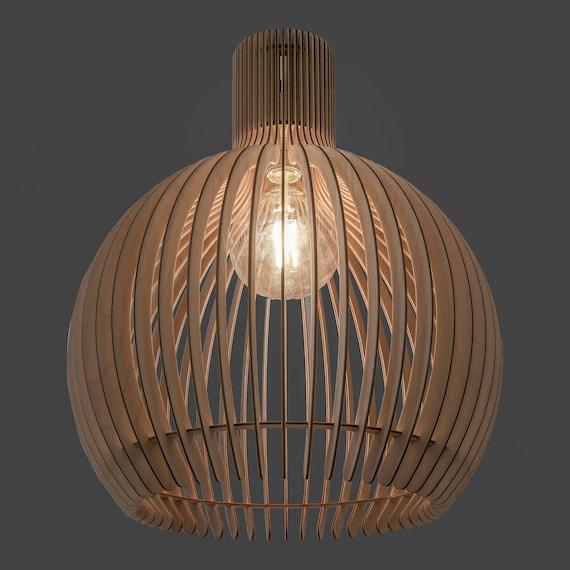 Natural Wood Kitchen Ceiling Lights Pendant Lighting