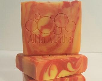 Orange Zest Cold Process Soap