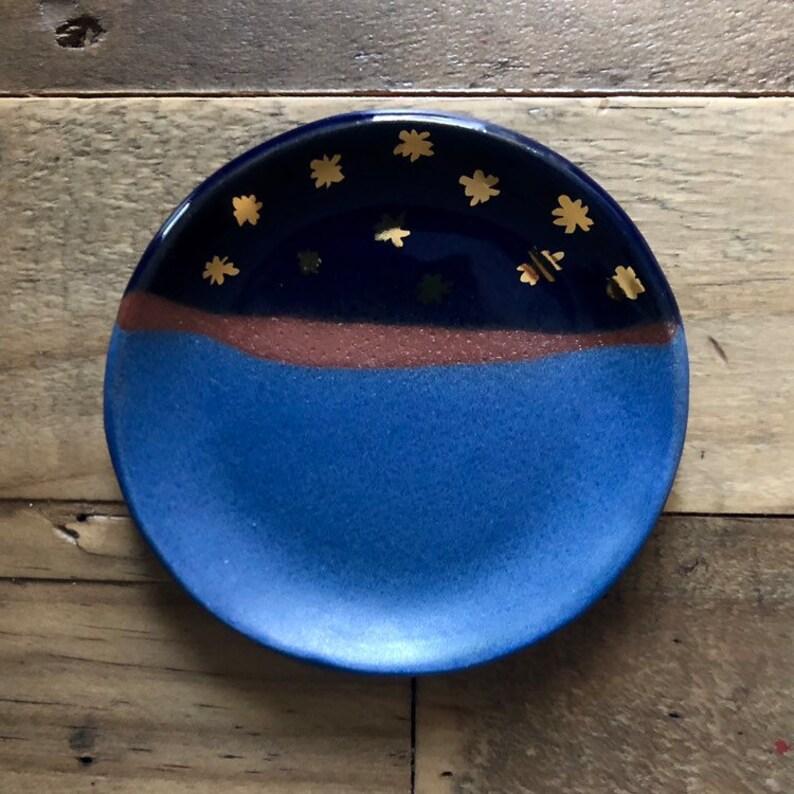 Night Sky Ring Dish