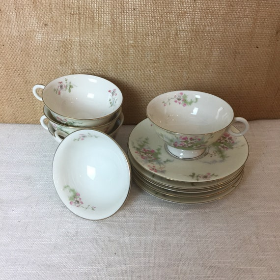 Theodore Haviland New York Apple Blossom China 5 piece Tea Time Set
