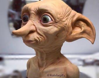 Dobby Sculpting Figure-Dobby sculpture Harry Potter