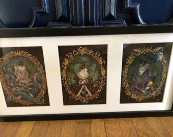 Disney Villains wonder ground prints