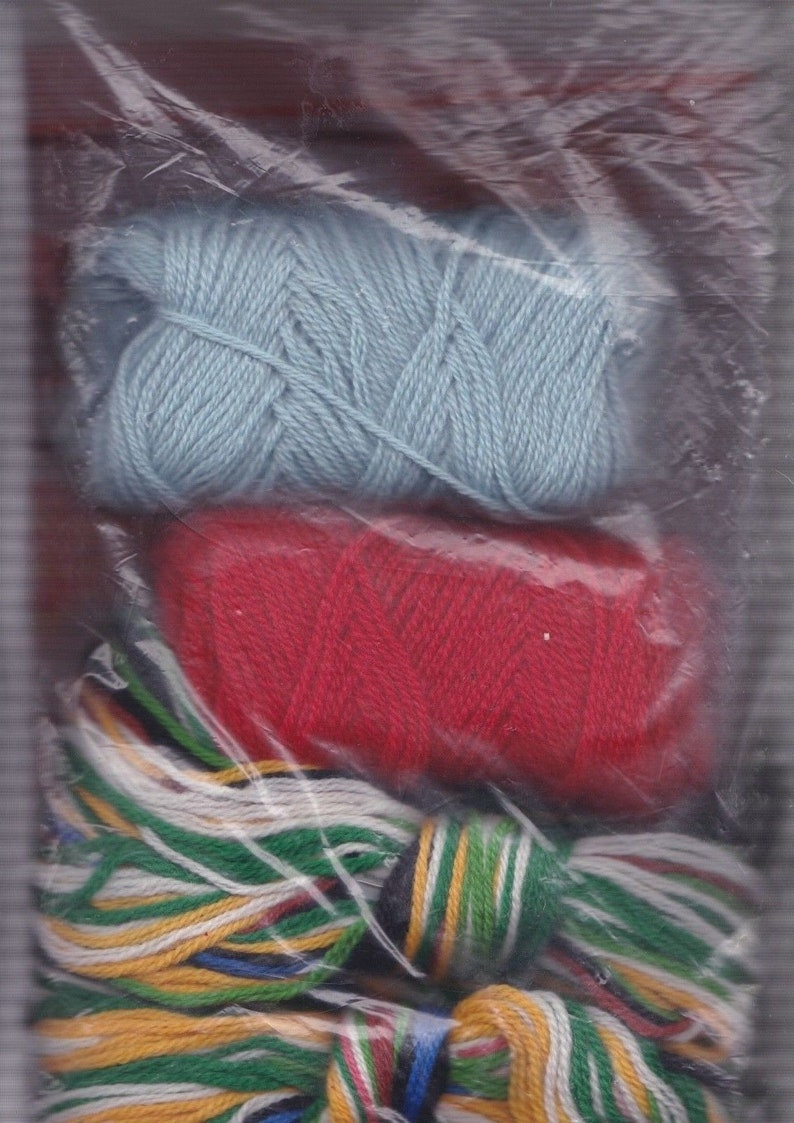 Vintage Bucilla Childs Delight Store Window Toys Needlepoint Stocking Kit 60634