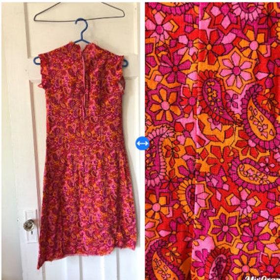 Vintage , Women's Dress, Vintage Dress, Psychedel… - image 1