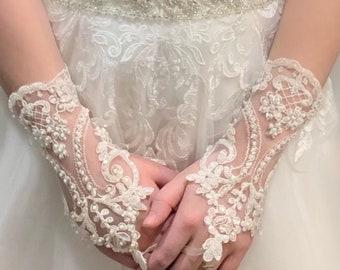 6d6b9cafd Wedding Glove Bridal Gloves