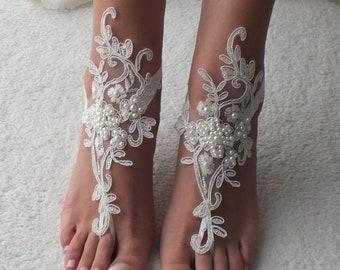 c8c613a2777a7 Beach wedding barefoot sandals