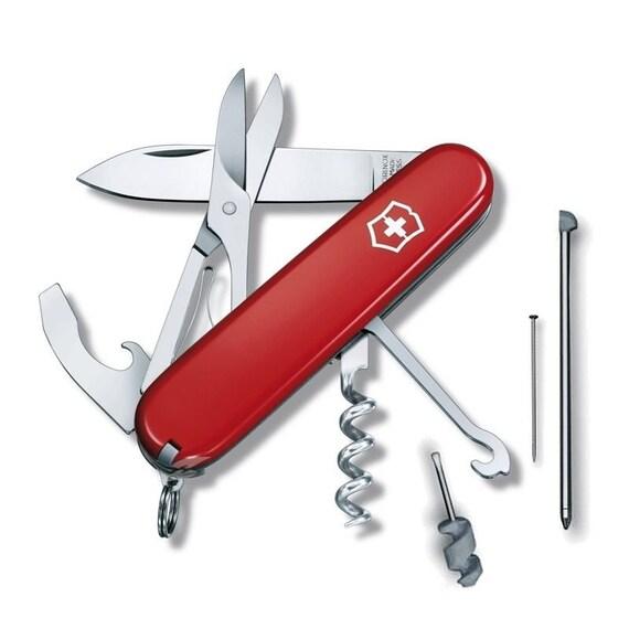 cadena llavero cinturón Navaja Victorinox SwissChamp Ruby