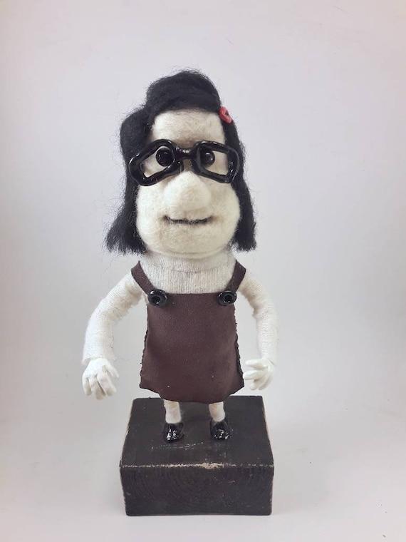 Mary Doll Inspired Mary And Max Movie Etsy