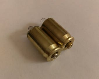 Handmade 45 ACP Warm White LED Brass Casing Flashlight