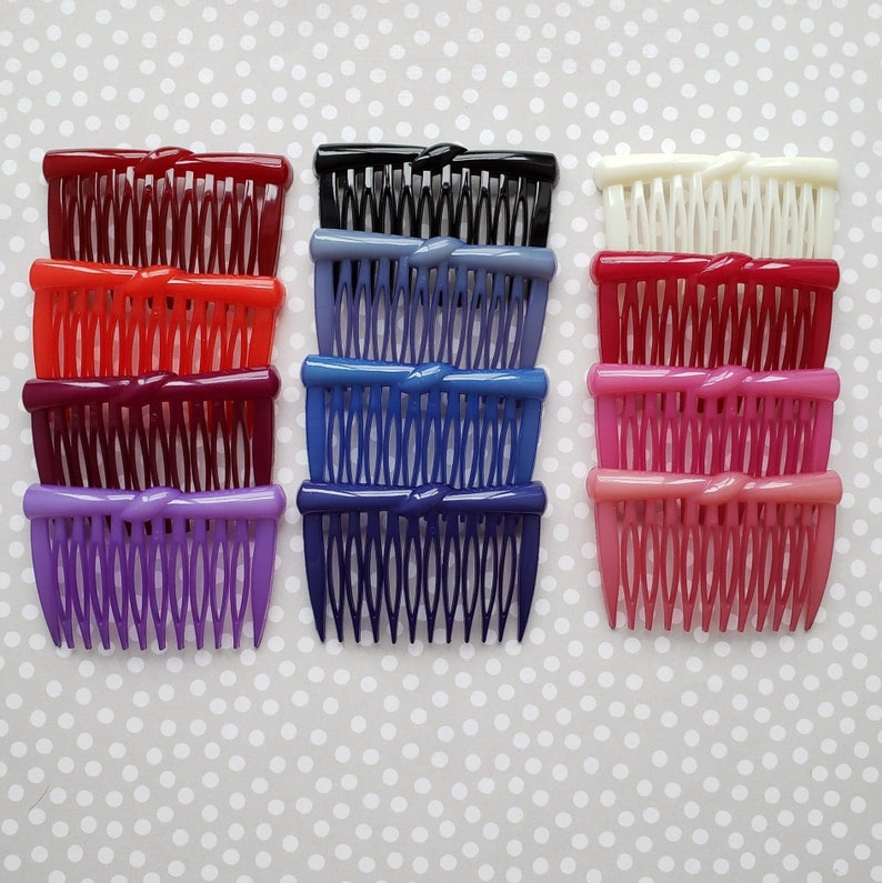 Buch And Deichmann simple knot Hair Comb, Unused Deadstock