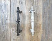 Cast Iron Barn Door Handle, Spindle Handle