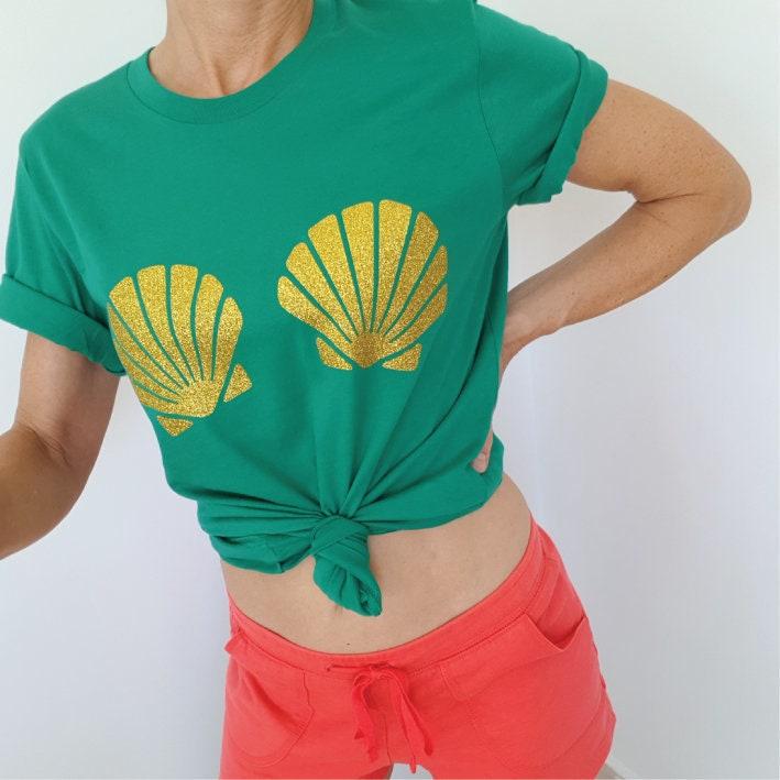 90c37f8dfd57e Green Mermaid Bra Top